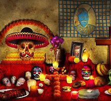 Los dios muertos - Rembering loved ones by Mike  Savad