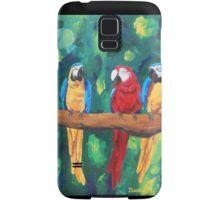 Parrot Talk - Samsung Samsung Galaxy Case/Skin