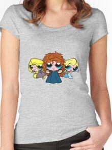 PrincessPuff Girls2 Women's Fitted Scoop T-Shirt