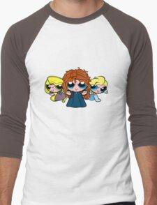 PrincessPuff Girls2 Men's Baseball ¾ T-Shirt