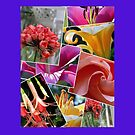 A Gorgeous Floral Collage for Your Ipad! by Pat Yager