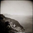 { Santorini Coastline } by Lucia Fischer