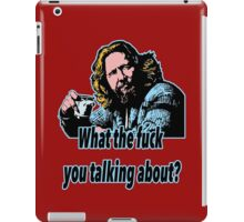 Big Lebowski Philosophy 21 iPad Case/Skin