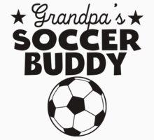 Grandpa's Soccer Buddy Baby Tee