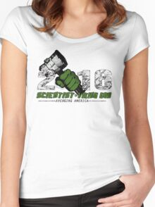 Scientist & Viking god of Thunder Women's Fitted Scoop T-Shirt