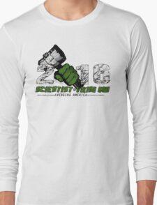 Scientist & Viking god of Thunder Long Sleeve T-Shirt