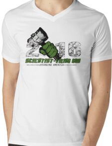 Scientist & Viking god of Thunder Mens V-Neck T-Shirt