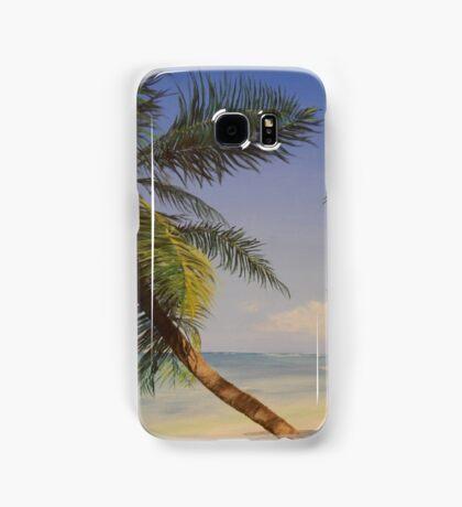 Palm Tree Ocean Tropical Beach Island - Samsung Samsung Galaxy Case/Skin