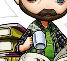 Idjits - Bobby Singer Research Time Sticker