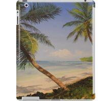 Palm Tree Ocean Tropical Beach Island - iPhone iPod iPad iPad Case/Skin