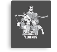 The Arsenal's Legends Canvas Print