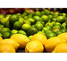 Lemons and Limes Photographic Print