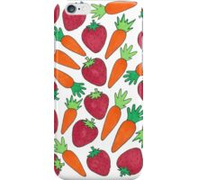 Strawberries & Carrots iPhone Case/Skin