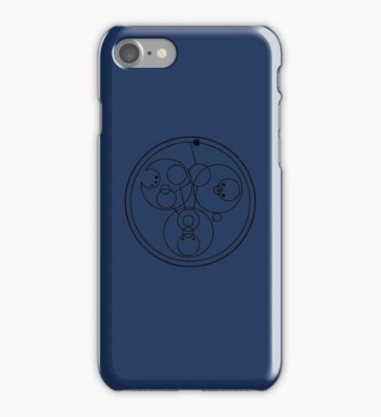 """""""Come along, Pond"""" Translated into Gallifreyan iPhone Case/Skin"""