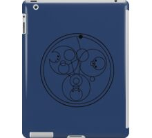 """Come along, Pond"" Translated into Gallifreyan iPad Case/Skin"