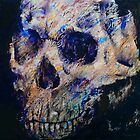 Ultraviolet Skull by Michael Creese