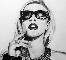 Iggy Azalea- Black and White by jcdorsaneo