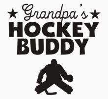 Grandpa's Hockey Buddy Kids Clothes