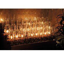 Devotion candles Photographic Print