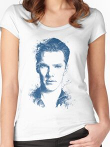 Benedict Cumberbatch Women's Fitted Scoop T-Shirt