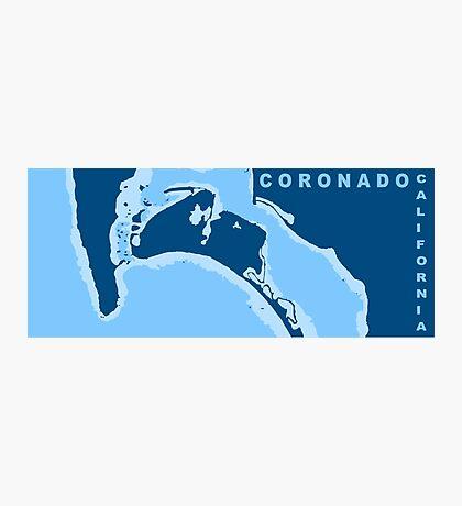 Coronado - California.  Photographic Print