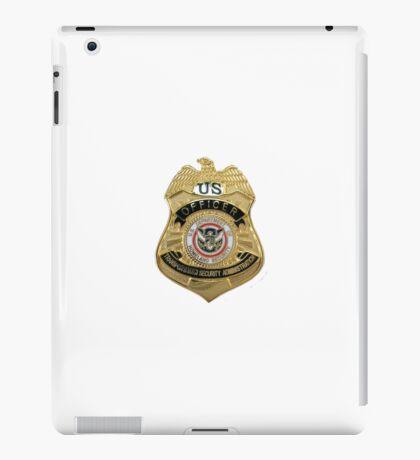 Transportation Security Administration TSA iPad Case/Skin