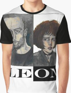 Léon: The Professional Graphic T-Shirt