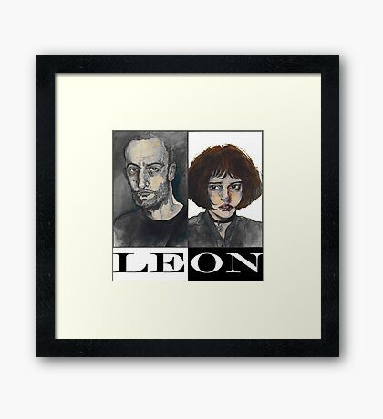 Léon: The Professional Framed Print