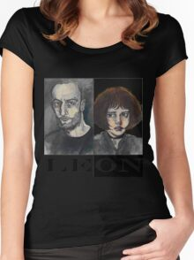 Léon: The Professional Women's Fitted Scoop T-Shirt