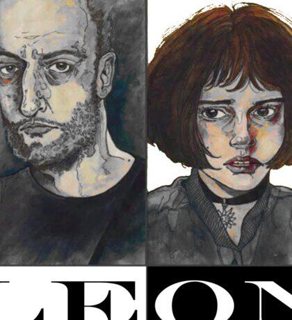 Léon: The Professional Sticker