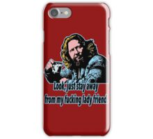 Big lebowski 25 iPhone Case/Skin