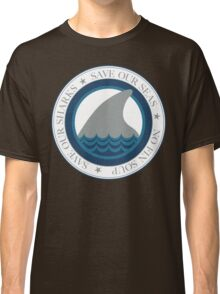save our sharks Classic T-Shirt