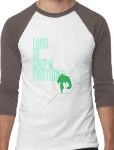 4 Lands - Green Men's Baseball ¾ T-Shirt