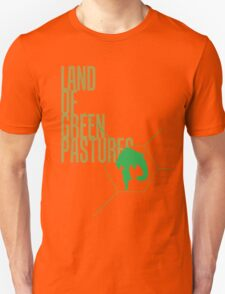 4 Lands - Green Unisex T-Shirt
