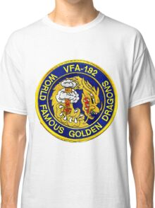 Politically Incorrect VFA-192 Golden Dragons Classic T-Shirt