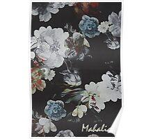 Vintage Floral Pattern Poster