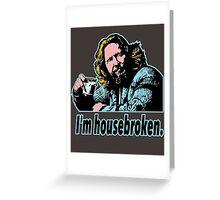 Big lebowski Philosophy 29 Greeting Card