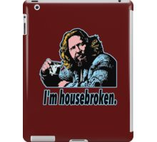 Big lebowski Philosophy 29 iPad Case/Skin