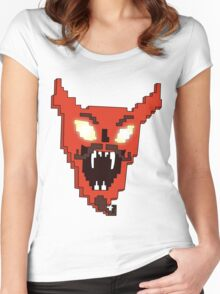 DESTROYER OF WORLDS Women's Fitted Scoop T-Shirt