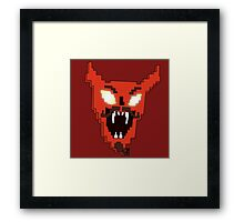 DESTROYER OF WORLDS Framed Print