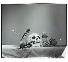 Medium Format: Campy Skull Poster