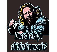 Big Lebowski Philosophy 31 Photographic Print
