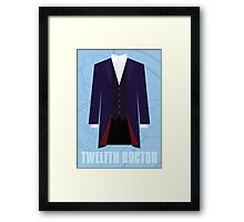 Doctor Who Twelfth Doctor Costume Framed Print