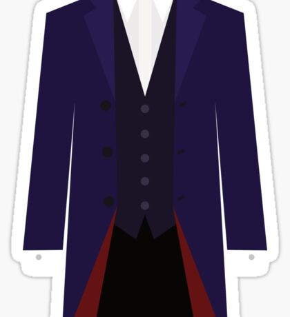Doctor Who Twelfth Doctor Costume Sticker