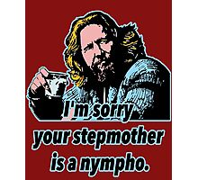 Big Lebowski Philosophy 32 Photographic Print