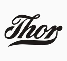 Thor, American classic motorcycle logo remake One Piece - Short Sleeve