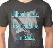 Without music... Unisex T-Shirt