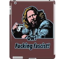 Big Lebowski Philosophy 33 iPad Case/Skin