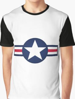 Stars and Stripes Graphic T-Shirt