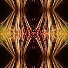 Fireworks Abstract 20 by Kevin J Cooper